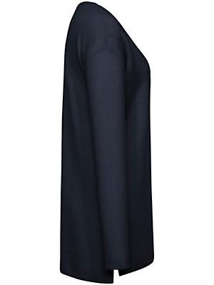 Peter Hahn - Long-Pullover mit V-Ausschnitt