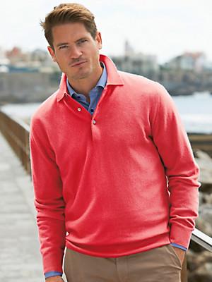 Peter Hahn - Polo-Pullover in reinem Kaschmir– Modell PAUL