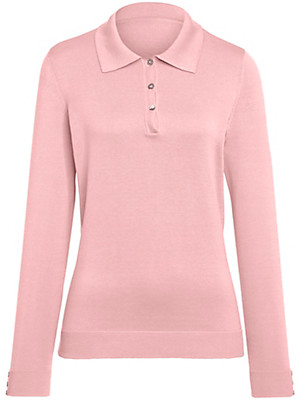 Peter Hahn - Polo-Pullover mit 1/1-Arm