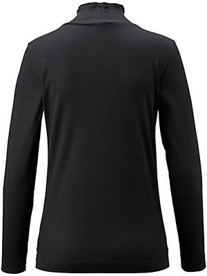 Peter Hahn - Rippen-Shirt mit Stehbund-Kragen