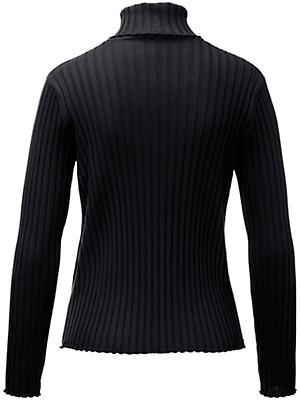 Peter Hahn - Rollkragen-Pullover aus reiner Schurwolle
