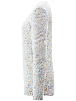 Peter Hahn - Rundhals-Pullover aus 100% Baumwolle