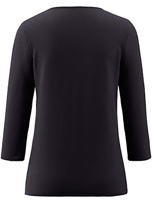 Peter Hahn - Rundhals-Pullover aus 100% Baumwolle mit 3/4-Arm