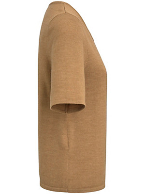 Peter Hahn - Rundhals-Pullover aus 100 % Schurwolle mit 1/2-Arm