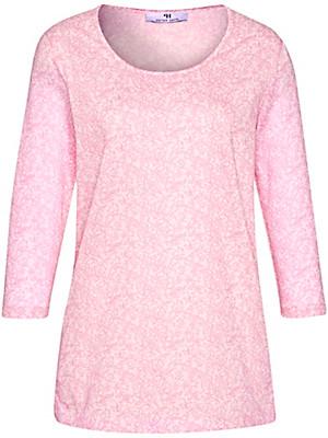 Peter Hahn - Rundhals-Shirt in 100% Baumwolle mit 3/4-Arm