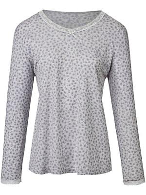 Peter Hahn - Shirt aus 100% Baumwolle mit V-Ausschnitt