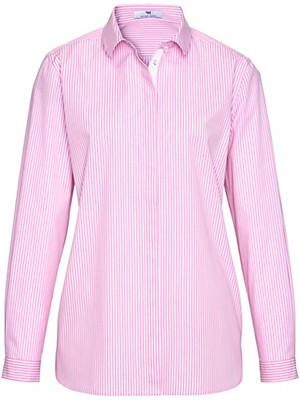 Peter Hahn - Streifen-Bluse in 100% Baumwolle