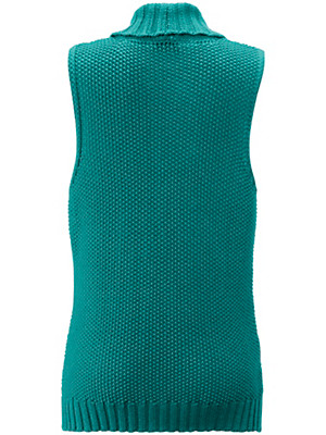 Peter Hahn - Strickweste mit etwas längerer Form