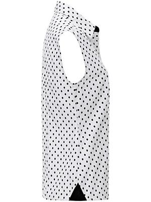 Peter Hahn - Tupfen-Bluse aus 100% Baumwolle