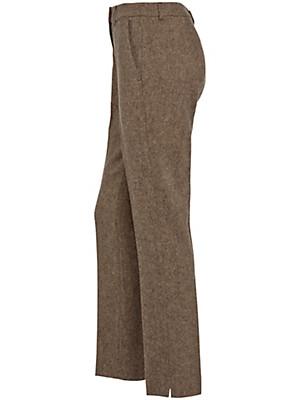 Peter Hahn - Tweed-Hose mit geradem Bein