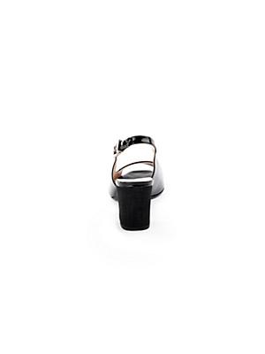 Peter Kaiser - Sandalette aus softem Kalbslackleder