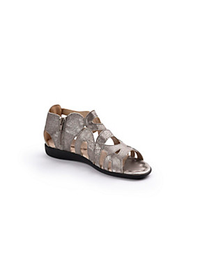 Romika - Knöchelhohe Sandale aus Rindsnappaleder