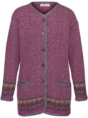 SAGA - Jacke mit Rundhals-Ausschnitt