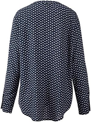 Samoon - Bluse mit abnehmbarer Kette