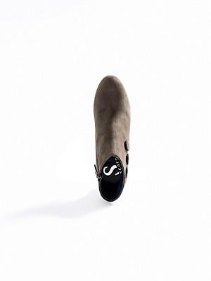 Scarpio - Ankle-Boot aus Ziegenveloursleder