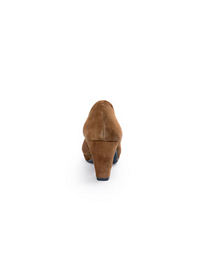 Scarpio - Pumps aus Ziegenveloursleder