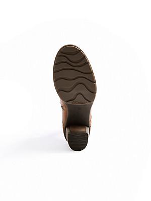 Softwaves - Schnür-Stiefelette aus hochwertigem Lammnappaleder