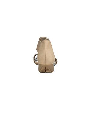 The Flexx - Sandale aus softem Kalbsnubukleder