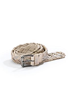Uta Raasch - Flechtgürtel aus hochwertigen Lederbändern