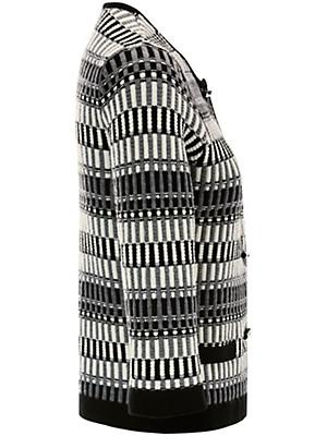 Uta Raasch - Strickjacke mit 3/4-Arm aus 100% Schurwolle