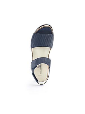 Waldläufer - Sandale aus Rindsnubukleder