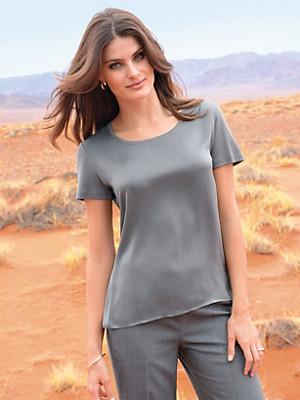 Windsor - Blusen-Shirt mit 1/2-Arm und in in 100% Seide