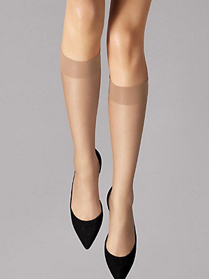"Wolford - Kniestrumpf ""Nude 8 Knee-Highs"""