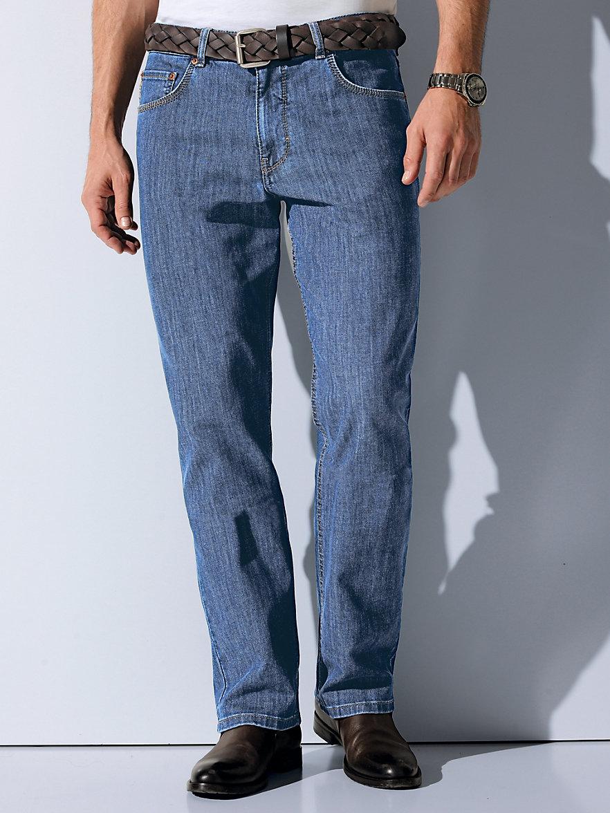 brax feel good jeans modell cooper blue light denim. Black Bedroom Furniture Sets. Home Design Ideas