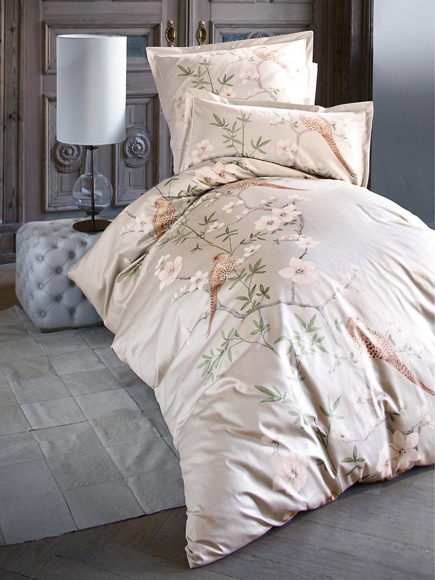 Elegante Bettwäsche Mako Satin Bettdecken Für Doppelbett Nemo