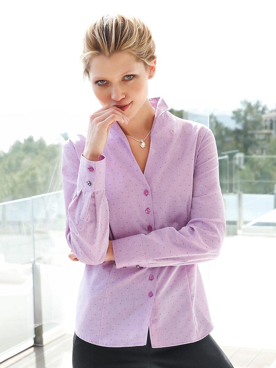 eterna bluse mit kelchkragen rosa. Black Bedroom Furniture Sets. Home Design Ideas