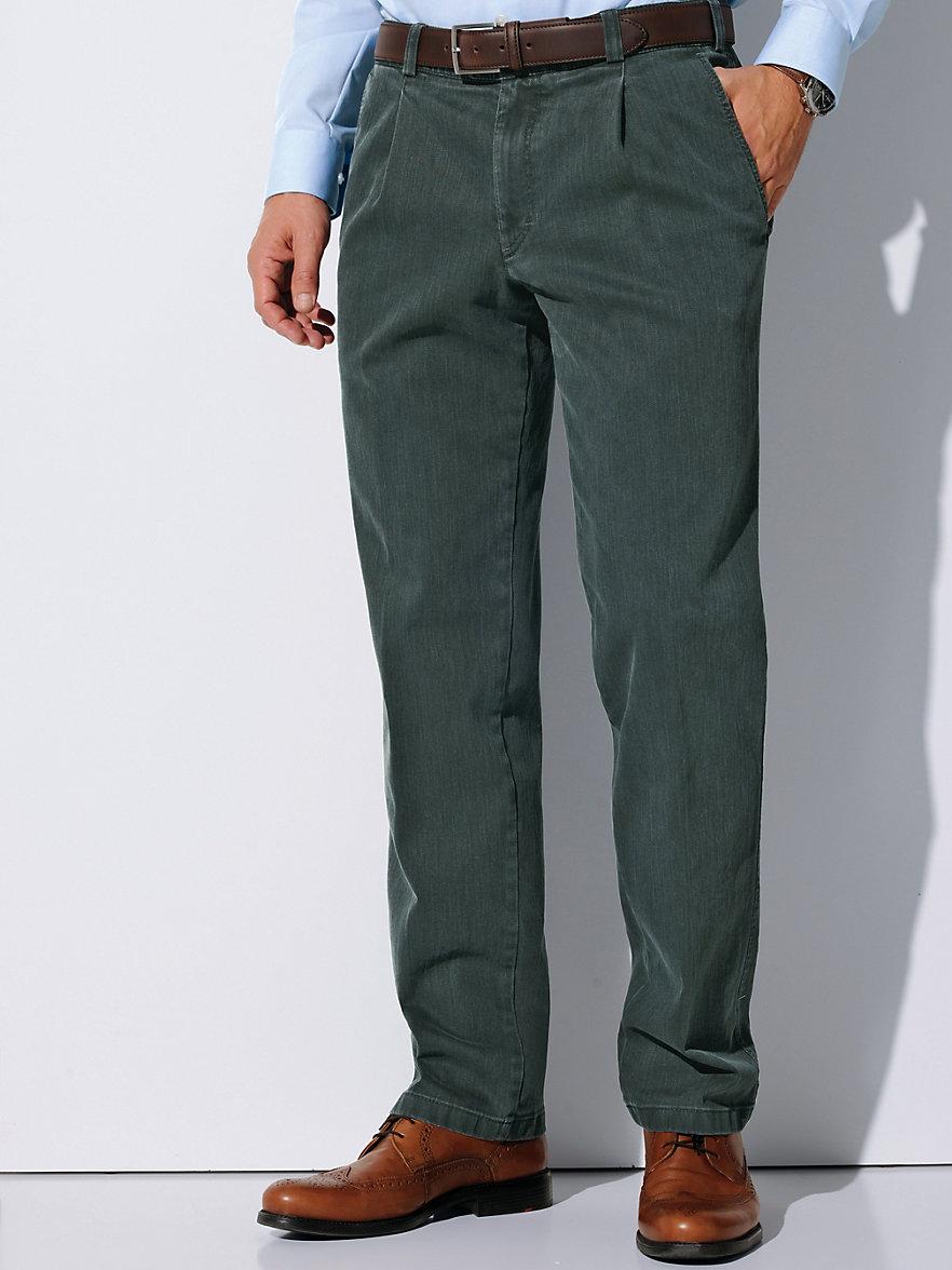 eurex by brax bundfalten jeans aus hochwertigem. Black Bedroom Furniture Sets. Home Design Ideas