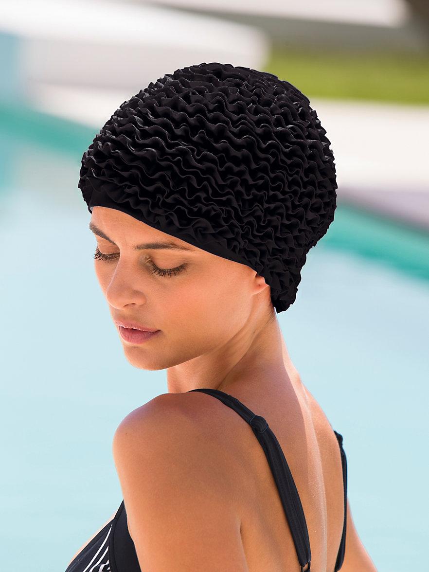 fashy le bonnet de bain noir. Black Bedroom Furniture Sets. Home Design Ideas