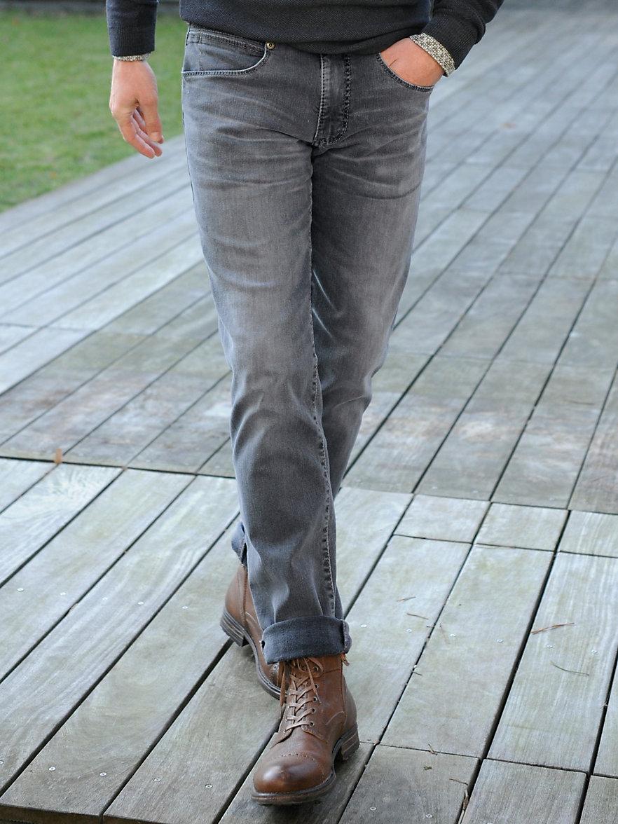 joker jeans modell freddy inch 32 grey denim. Black Bedroom Furniture Sets. Home Design Ideas