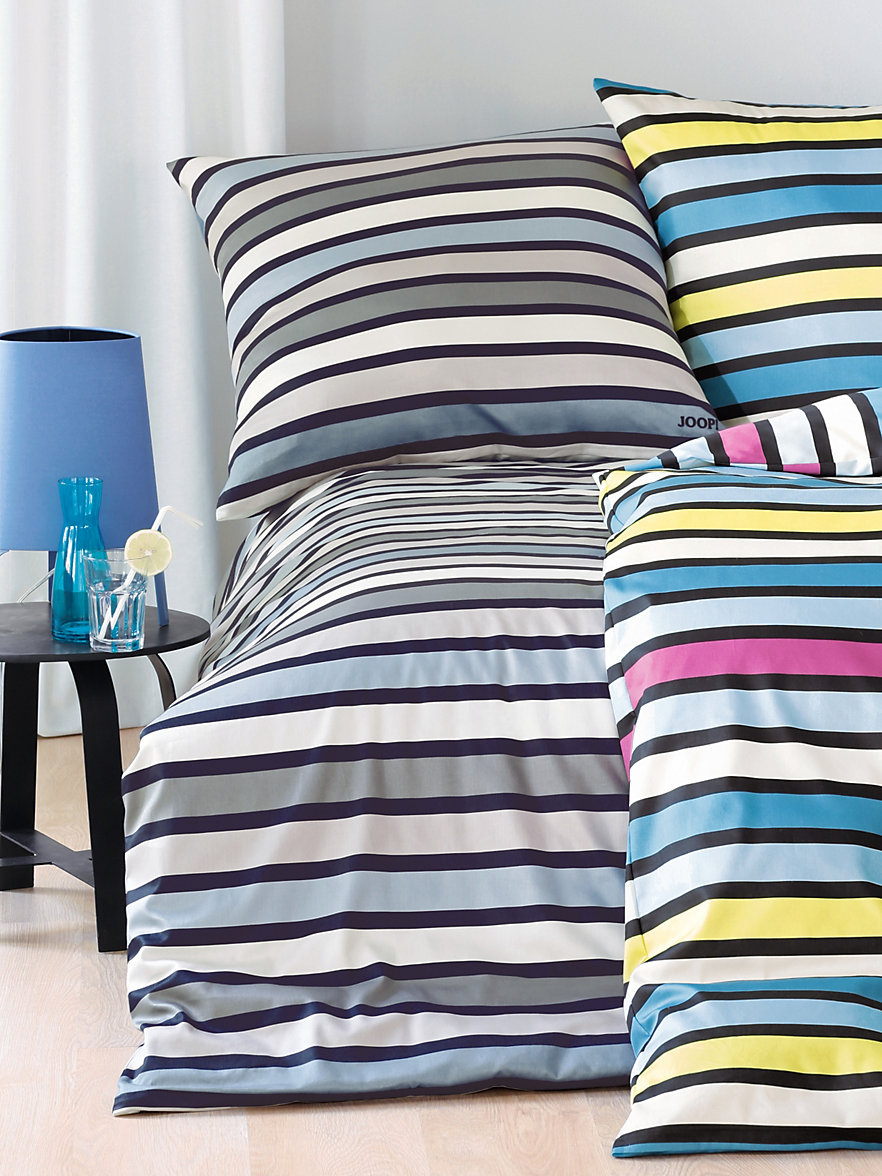 joop 2 teilige bettgarnitur ca 135x200cm aqua multicolor. Black Bedroom Furniture Sets. Home Design Ideas