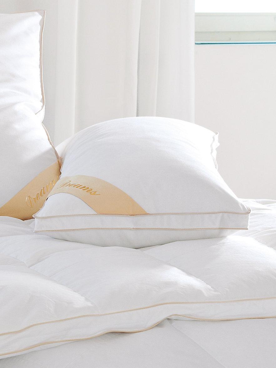 kauffmann daunen kopfkissen ca 40x80cm champagner. Black Bedroom Furniture Sets. Home Design Ideas