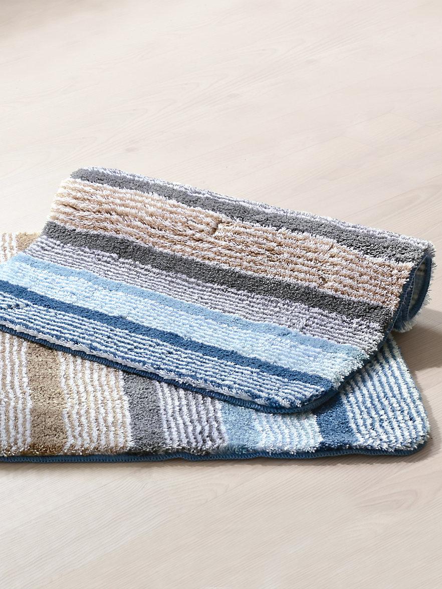 kleine wolke badematte ca 50x60cm blau. Black Bedroom Furniture Sets. Home Design Ideas