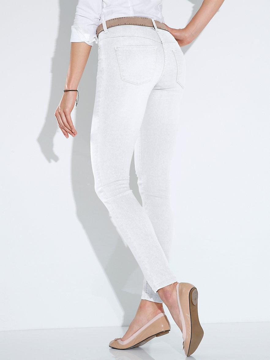 mac jeans dream skinny inch gr 30 wei denim. Black Bedroom Furniture Sets. Home Design Ideas