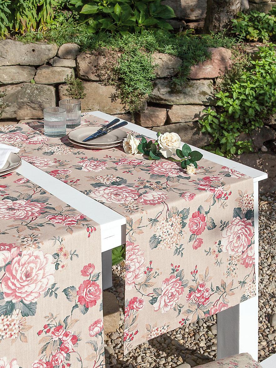 sander tischl ufer ca 50x140cm sand multicolor. Black Bedroom Furniture Sets. Home Design Ideas