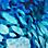 Blau/Türkis/Weiß