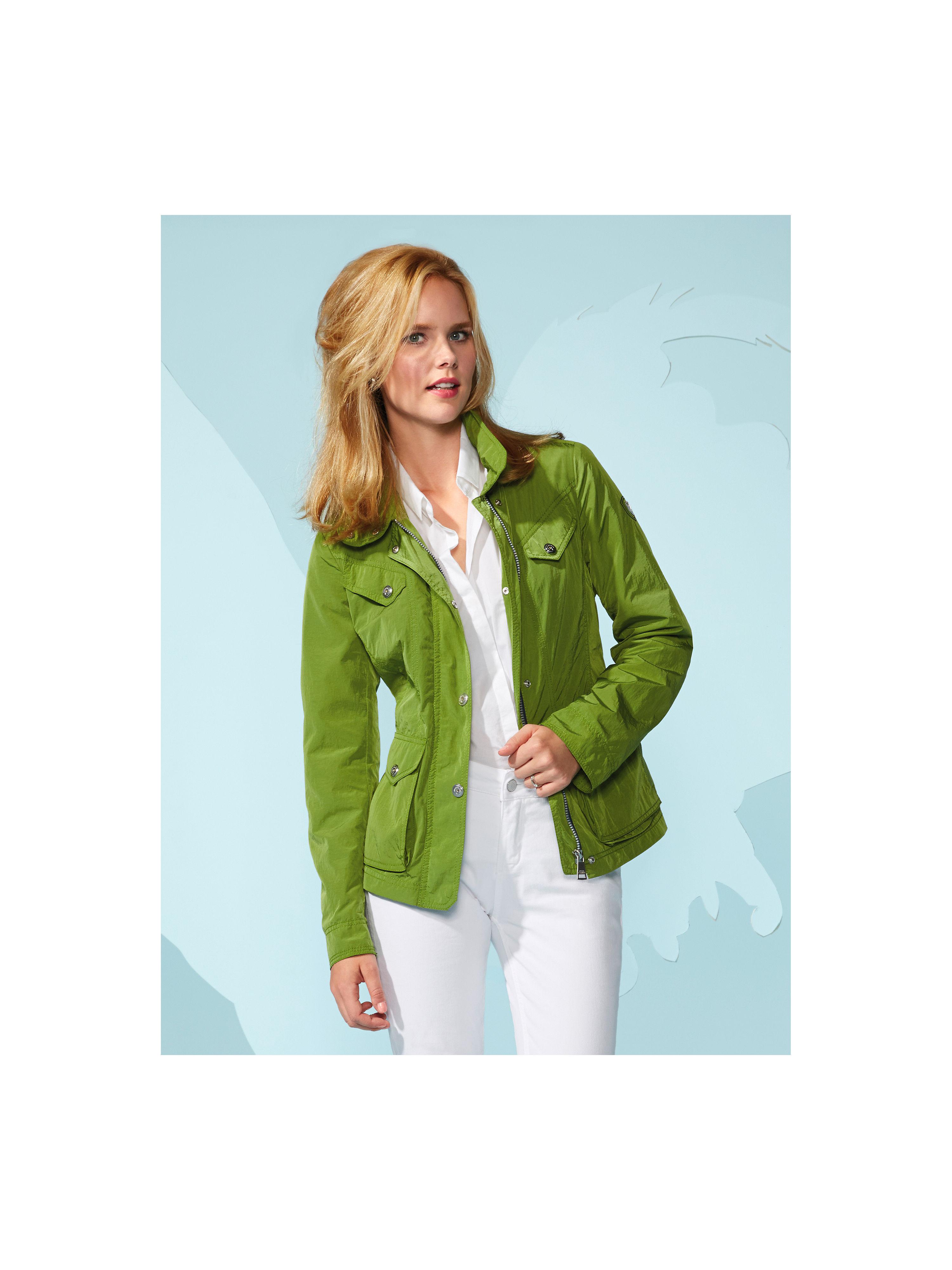 jacket fuchs schmitt green size 24. Black Bedroom Furniture Sets. Home Design Ideas