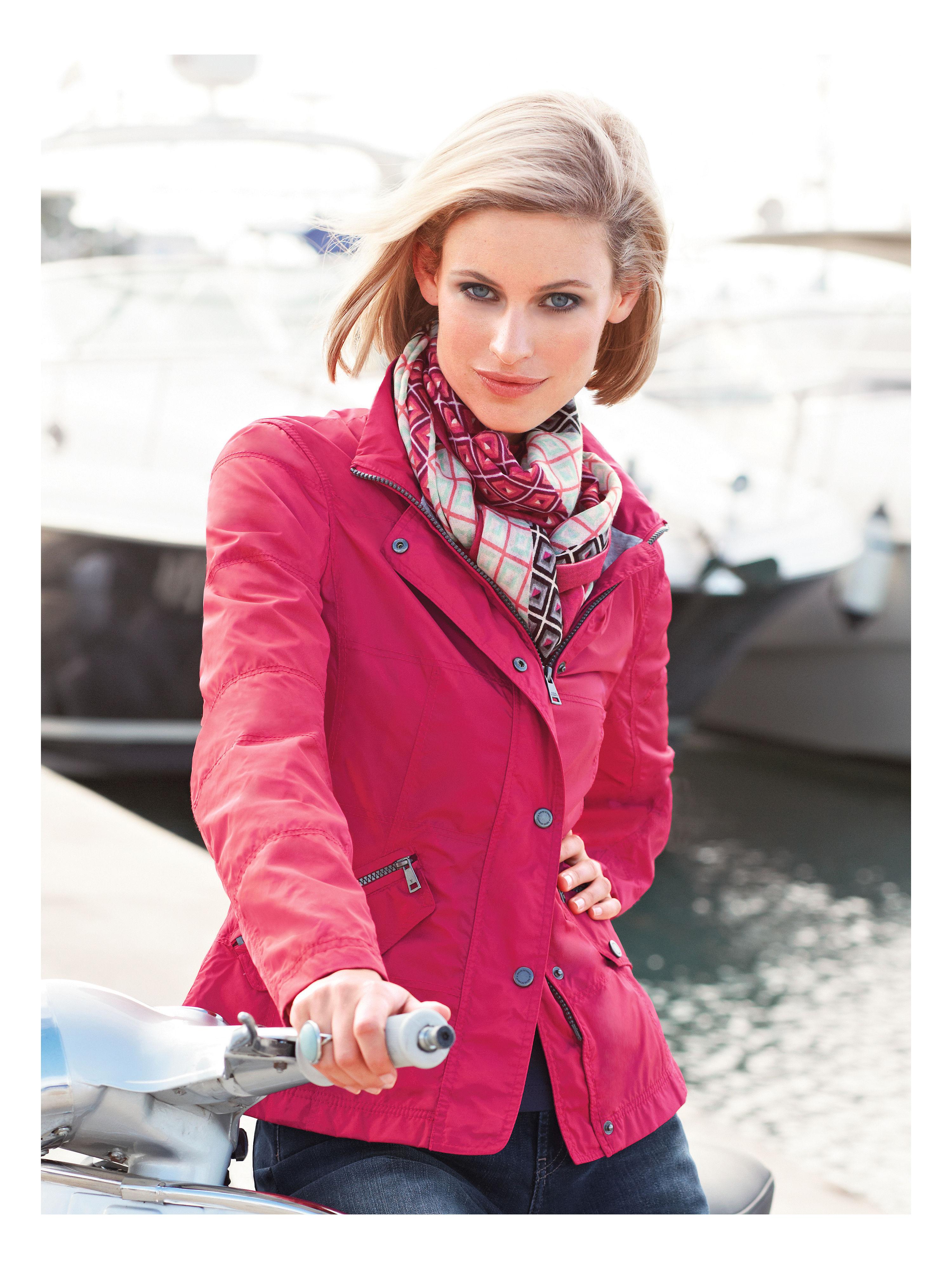 jacket fuchs schmitt bright pink size 22. Black Bedroom Furniture Sets. Home Design Ideas