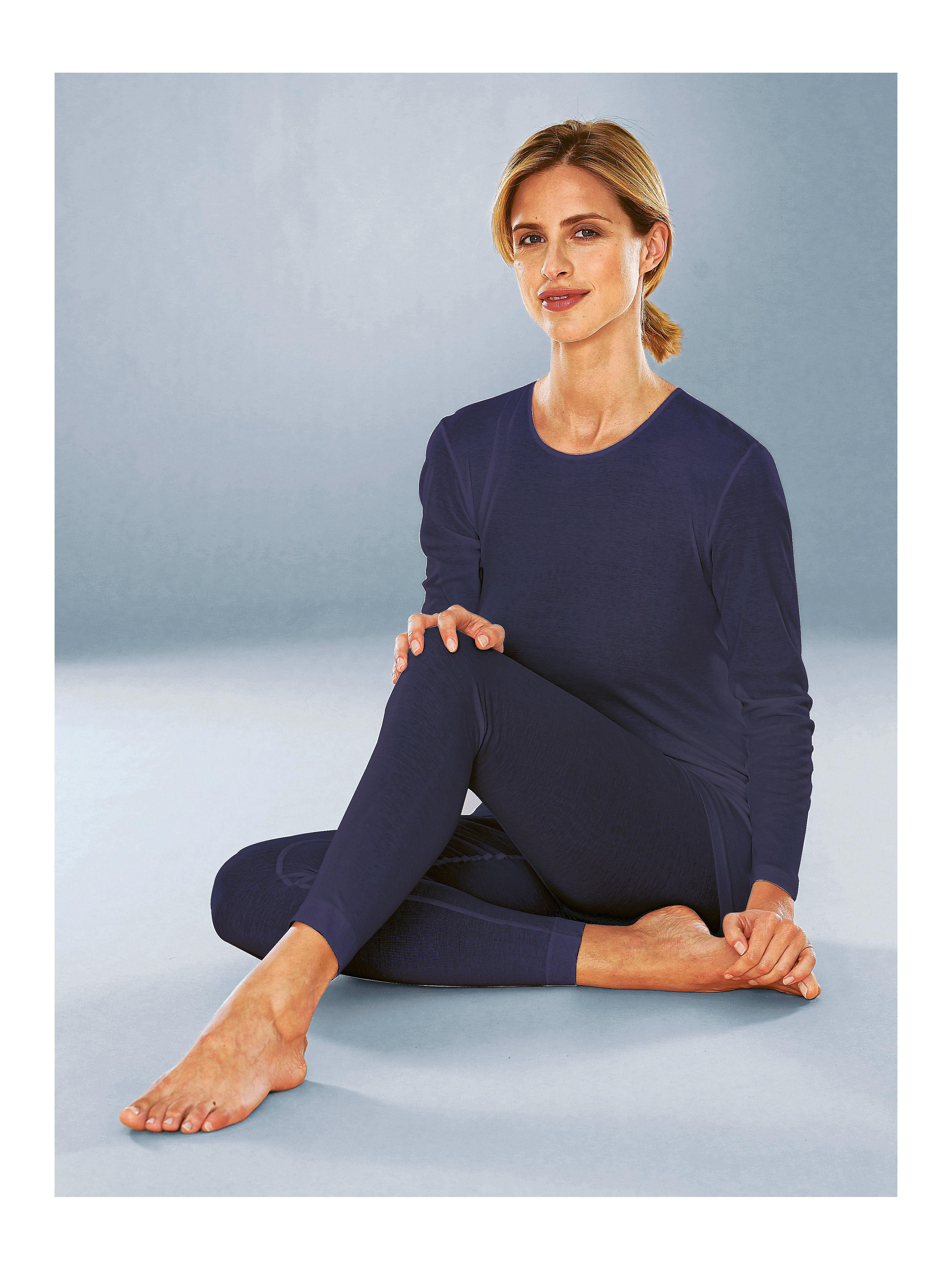 """Lange Hose """"Noblesse´´ Mey blau Größe: 42"""