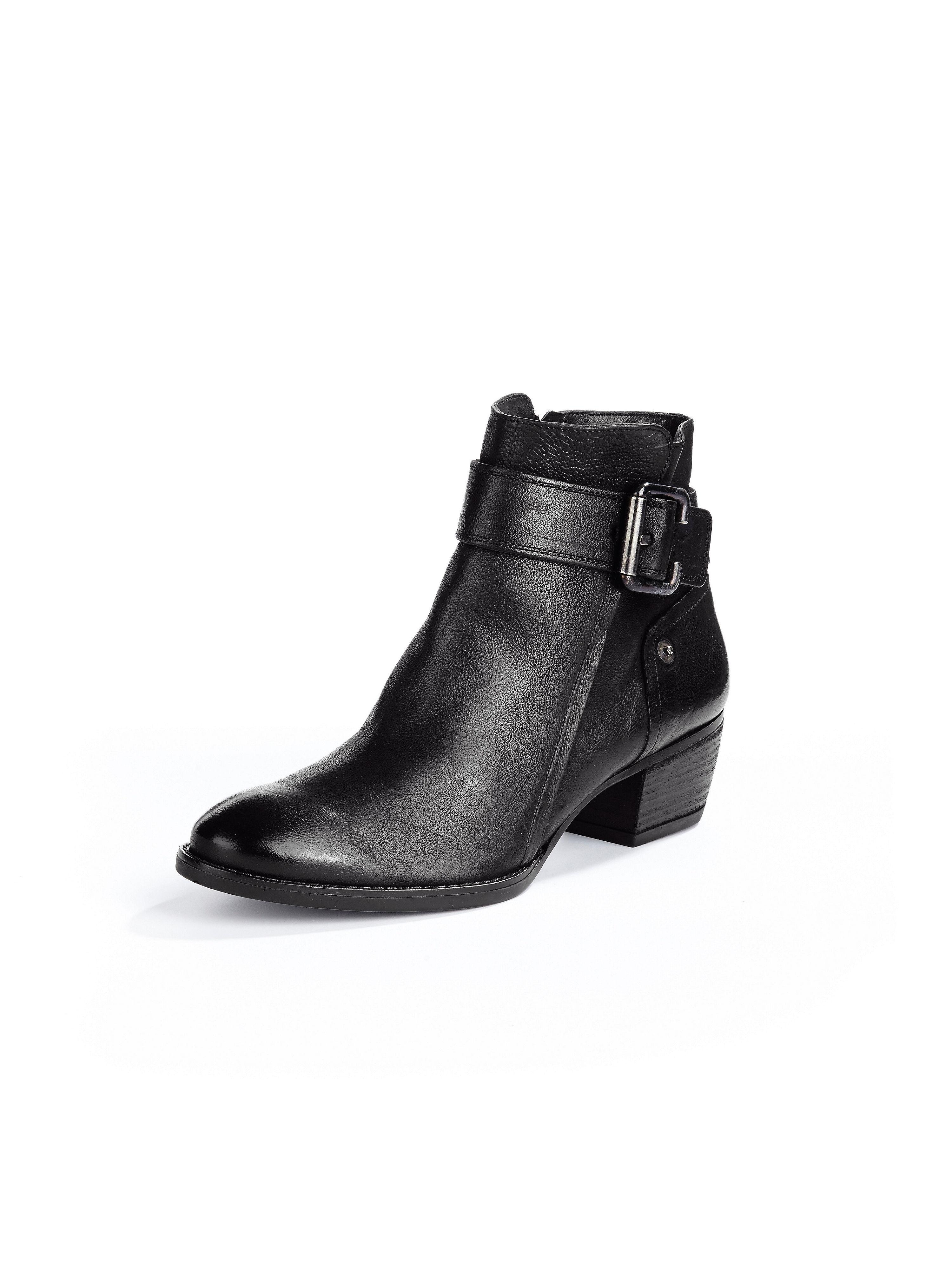 ankle boots paul green black size 375. Black Bedroom Furniture Sets. Home Design Ideas