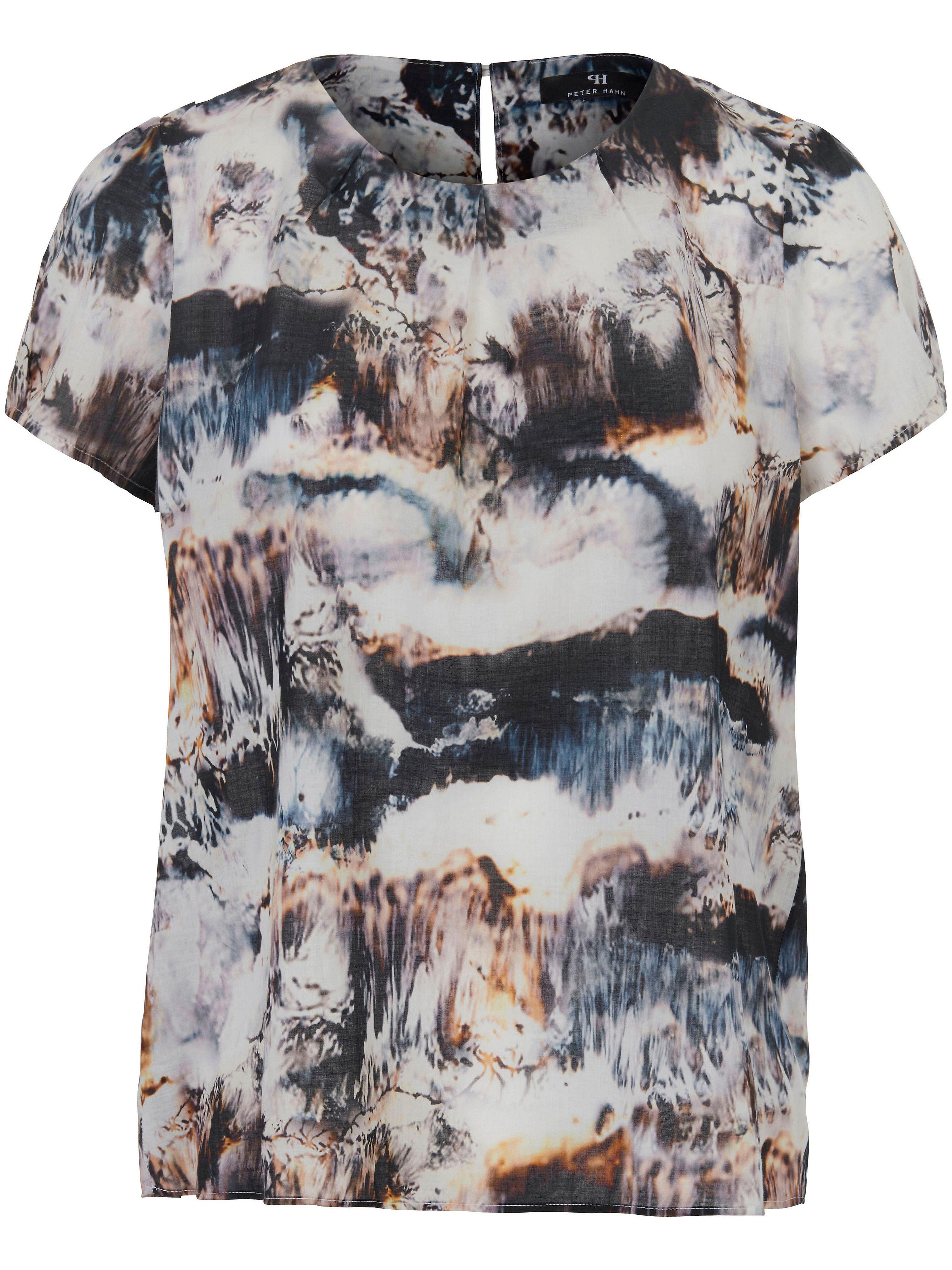 Blusen-Shirt aus 100% Baumwolle Peter Hahn mehrfarbig Größe: 42 von Peter Hahn - DE in black - Schwarz für 39,95€