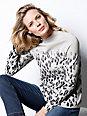 DAY.LIKE - Pullover mit Stehbund-Kragen und legerer Form