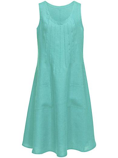 Anna Aura - Ärmelloses Kleid in der Trendfarbe Türkis