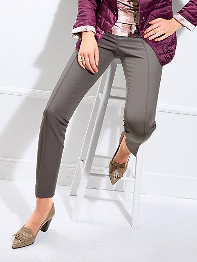 Basler - Knöchellange Hose mit Biesen im Vorderteil