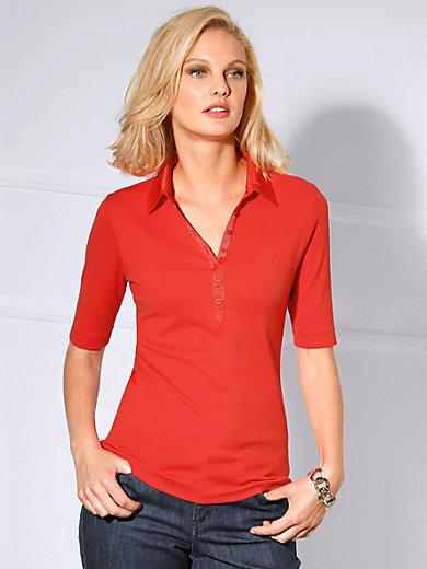 Basler - Polo-Shirt mit langem 1/2-Arm und Knopfleiste
