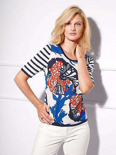 Basler - Shirt-Pullover, 1/2-Arm und modernem Materialmix