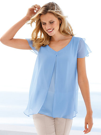 Betty Barclay - Bluse mit Schlitz oben am 1/2-Arm
